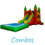 Inflatable Combo Rental, 4 in 1 Rental, 5 in 1 Rental