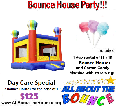 Free Bounce House Party Rental Giveaway!