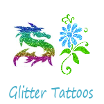 Have a Glitter Tattoo Artist at your next event! Girls, boys, and adults love them!